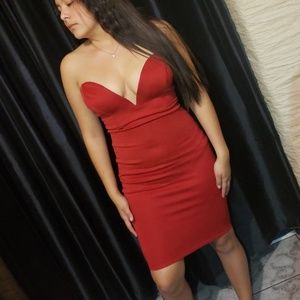 Hot red dress from Hot Miami Styles